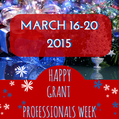 Happy Grant Professionals Week!