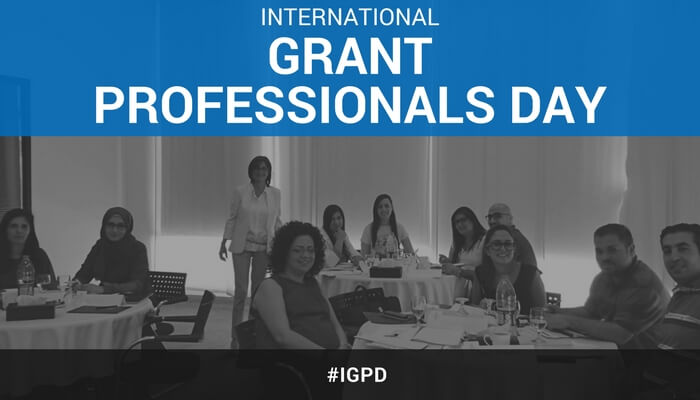 Happy International Grant Professional Day!