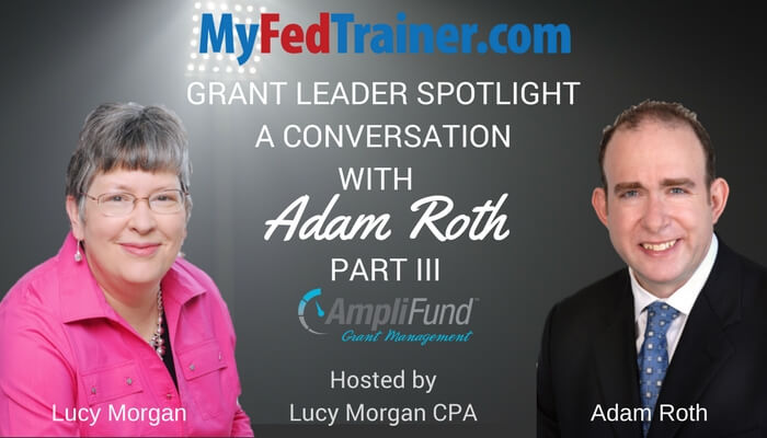 Grant Leader Spotlight: Adam Roth and AmpliFund Part III