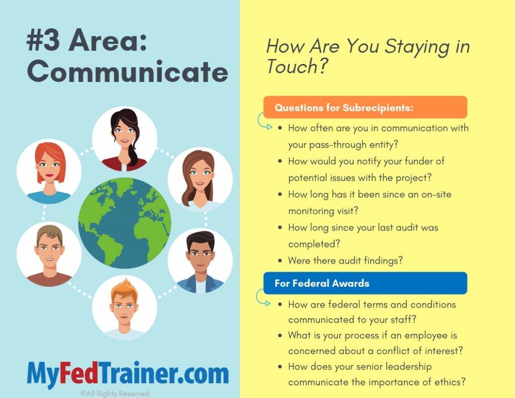 Subrecipient communication